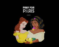 Pray for Paris by Magydisney