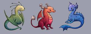 Dragons- Concept Art