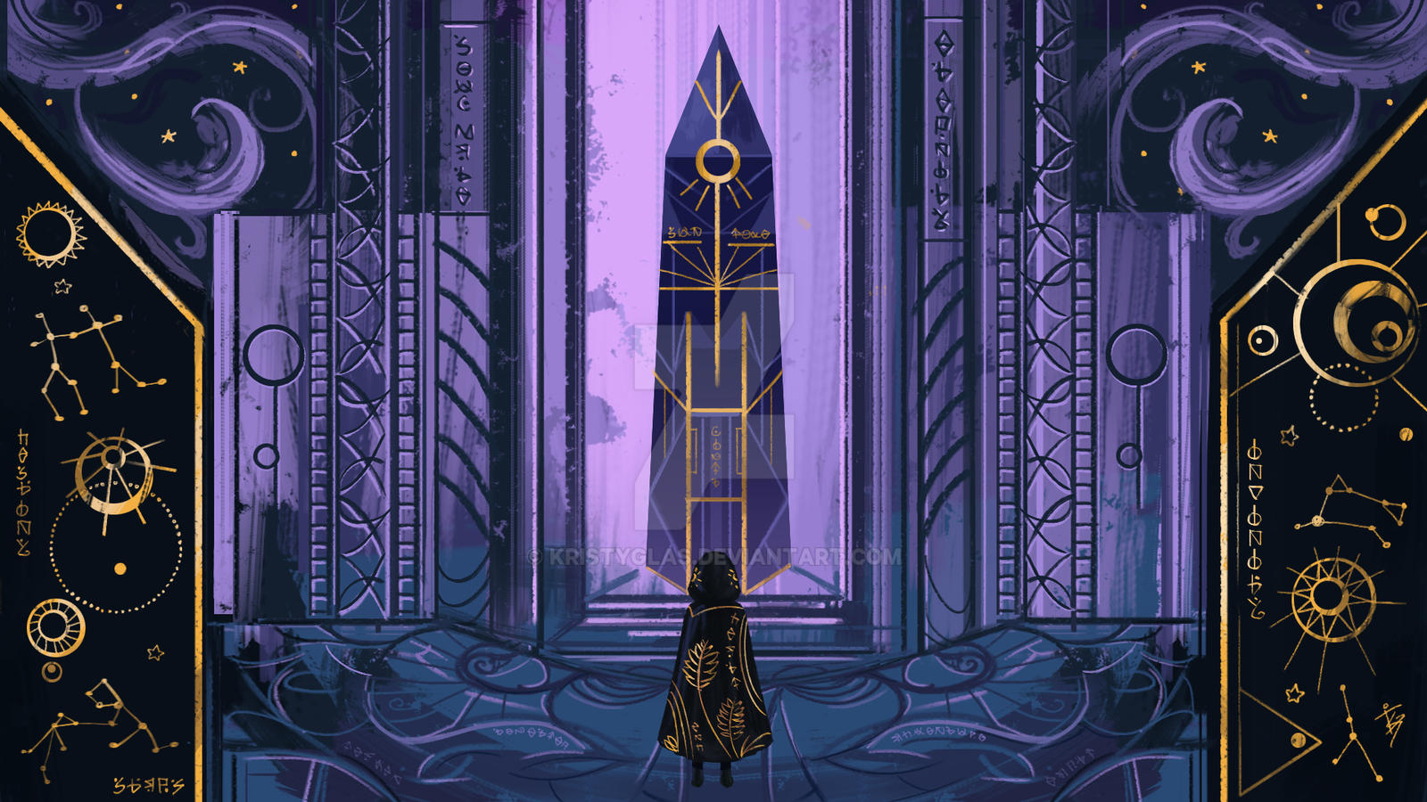 Path of the Monolith- Sky