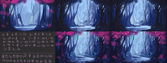 Path of the Monolith- Forest Art Process