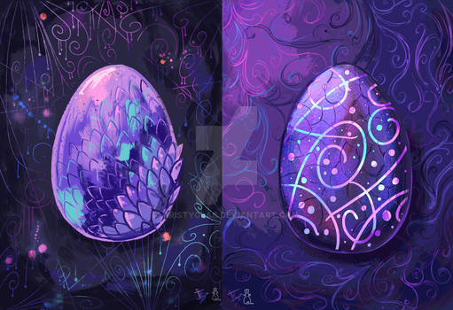 Dragon Eggs Collaboration with Lapin Mignon