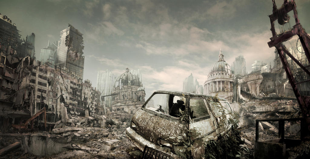 Destroyed City by Dest...