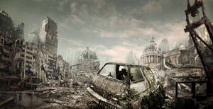 Destroyed City