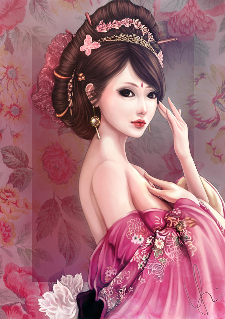Ancient Chinese Beauty By Shadowyingzhi On Deviantart
