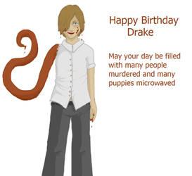 Gone- Drakes birthday by WOKgeotobi