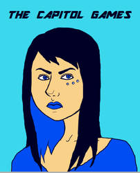 The Capitol Games- Natalia Marinos by WOKgeotobi