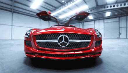 Merceded-Benz SLS AMG
