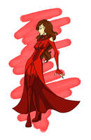Scarlet Witch revamped by Sarniel