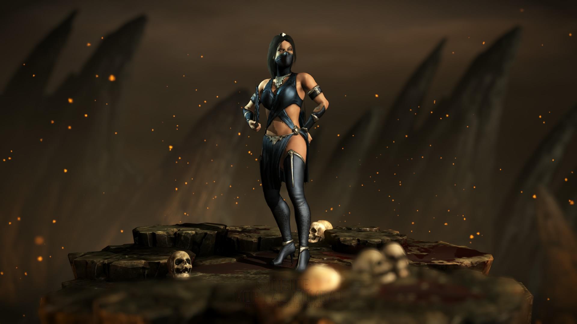 Mortal Kombat X Kitana Tournament 1 By Kebzuref On Deviantart