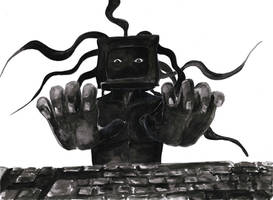 Mr. Computer by SiminaArt