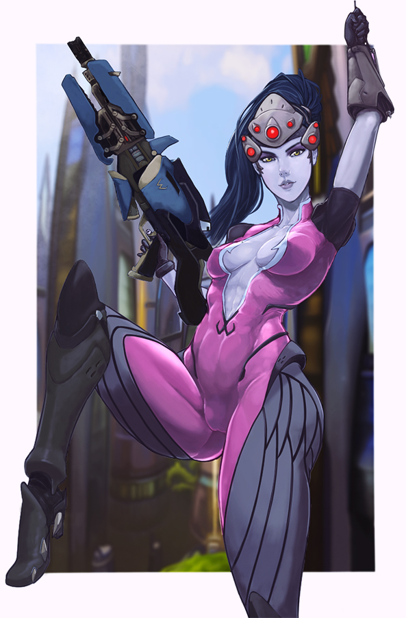 Overwatch blizzard widowmaker