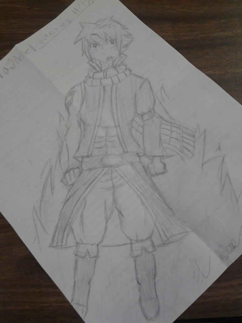 Natsu Dragneel-NEW OUTFIT- by multisora101 on DeviantArt