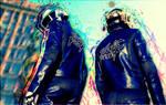 Daft Punk Dammaged Art