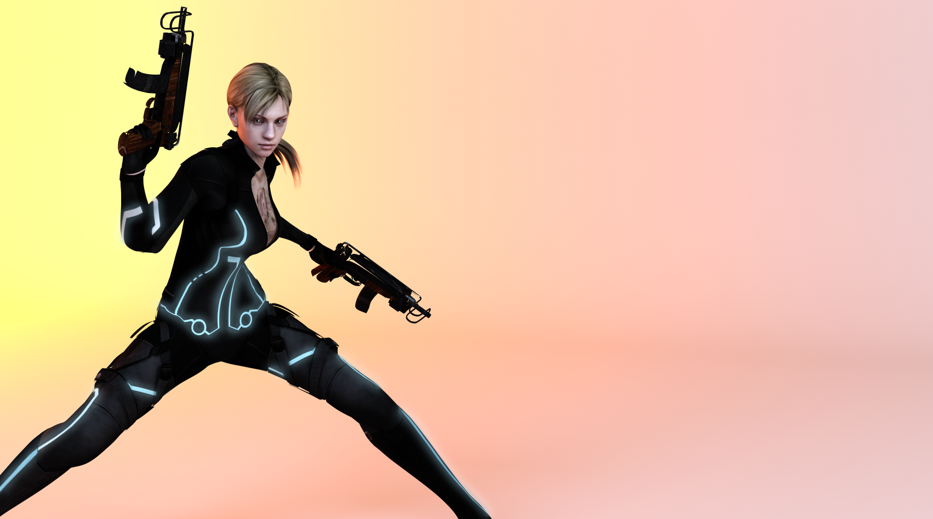Resident Evil 5 Jill Valentine Collaboration By Ishikahiruma