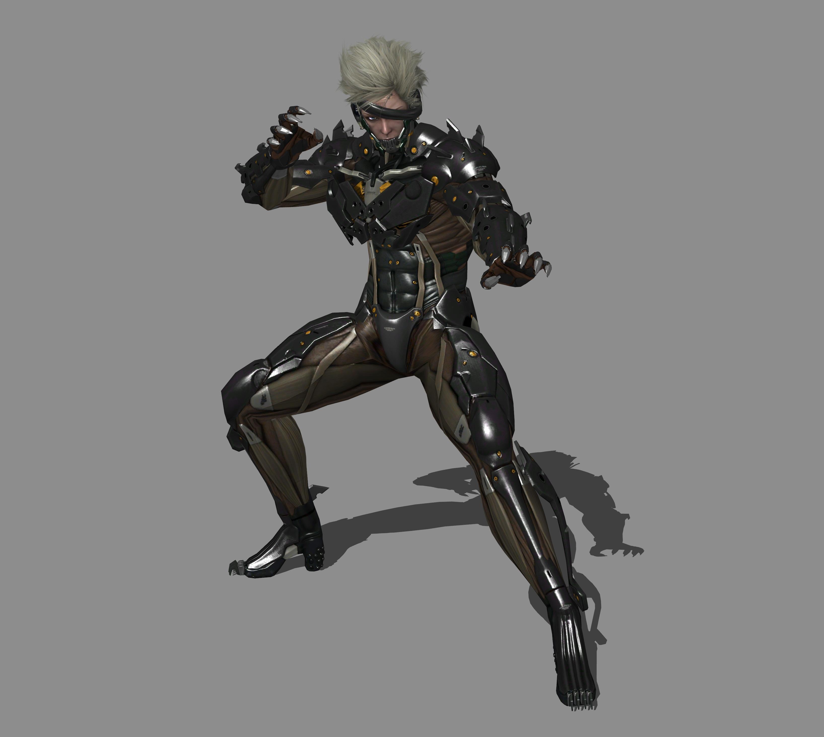 Metal Gear Rising Revengeance Raiden Claw Pose By Ishikahiruma On Deviantart
