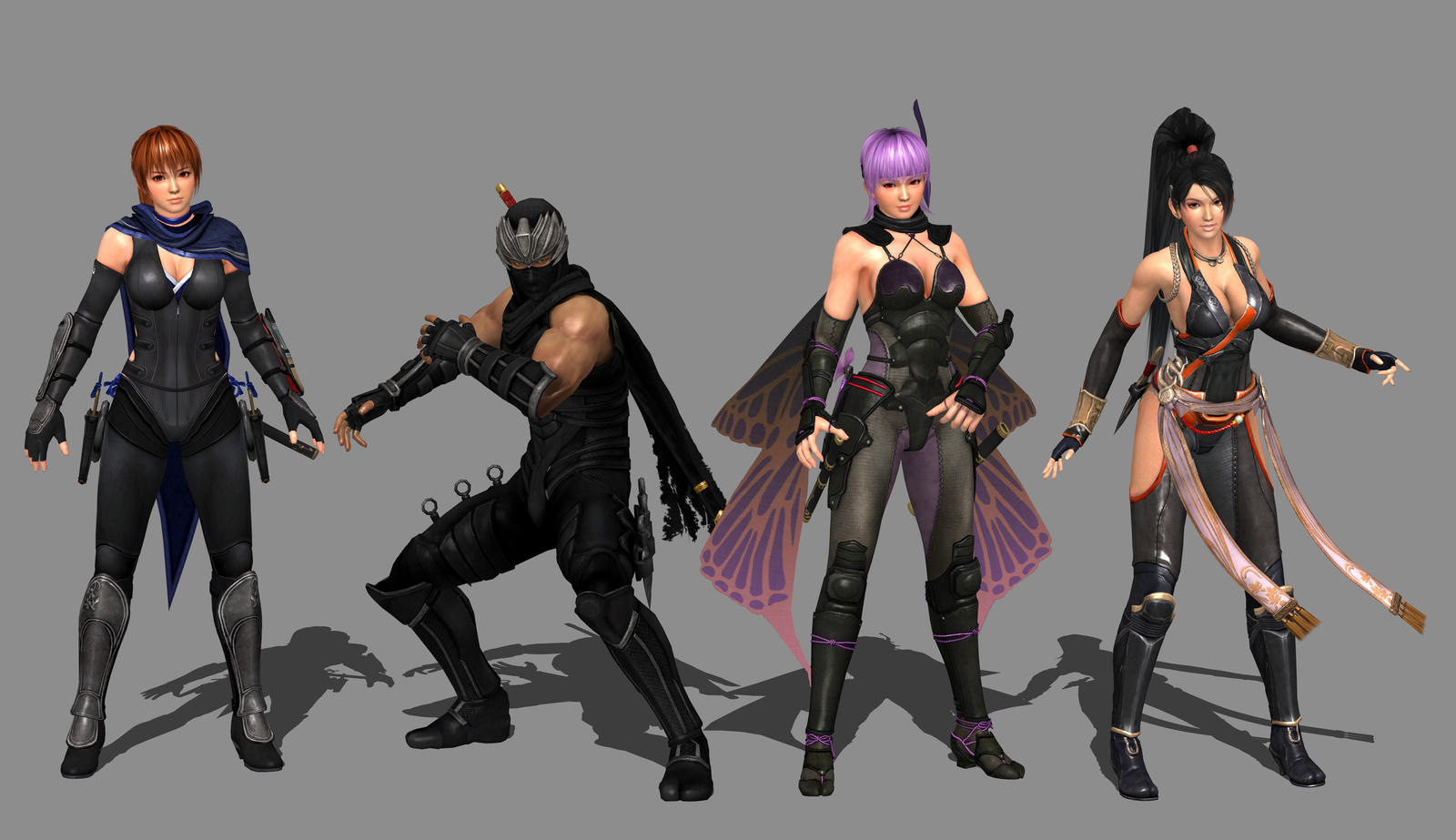 Ninja Gaiden 3 Razor S Edge The Cast By Ishikahiruma On Deviantart
