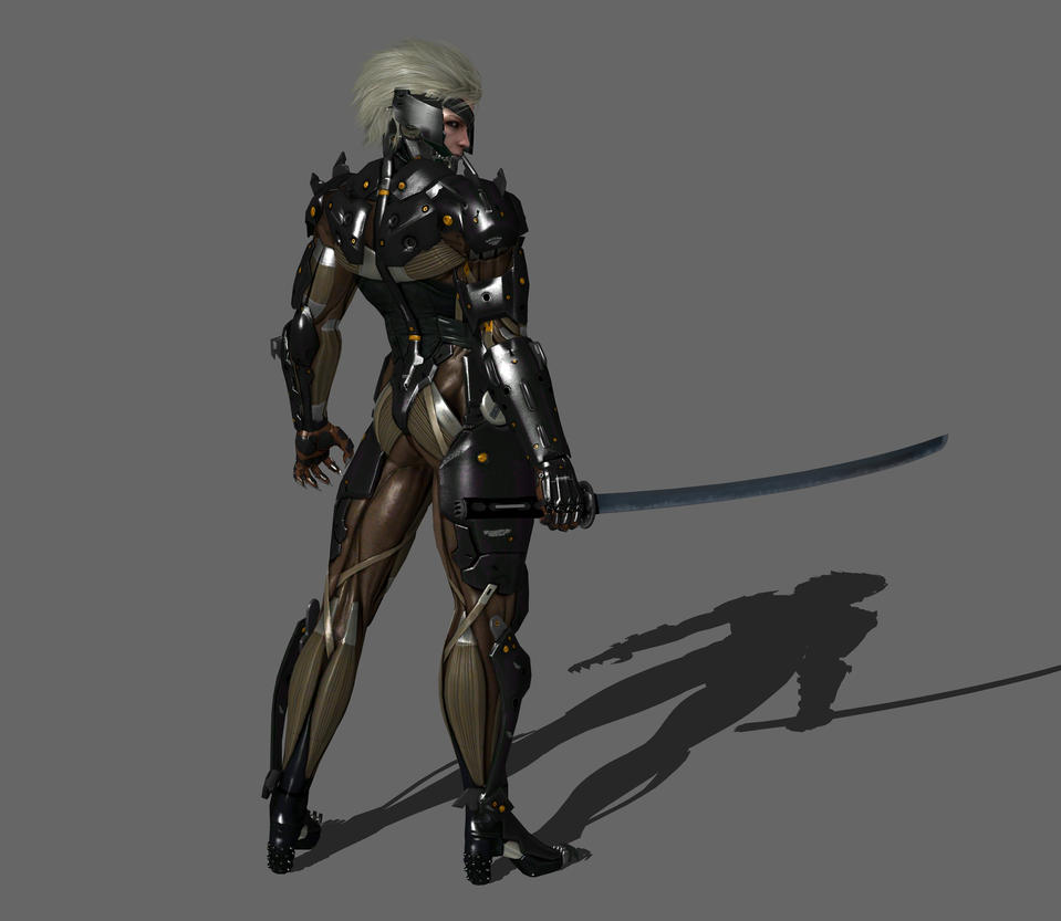Metal Gear Rising Wallpaper: Raiden [Muramasa Blade] By IshikaHiruma