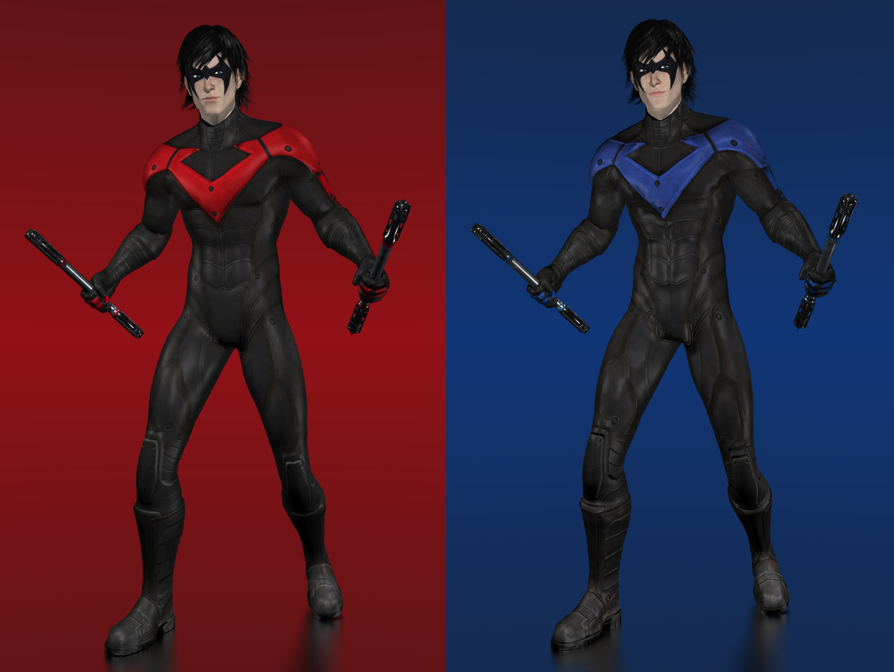 Batman arkham city nightwing by ishikahiruma on deviantart batman arkham city nightwing by ishikahiruma buycottarizona Choice Image