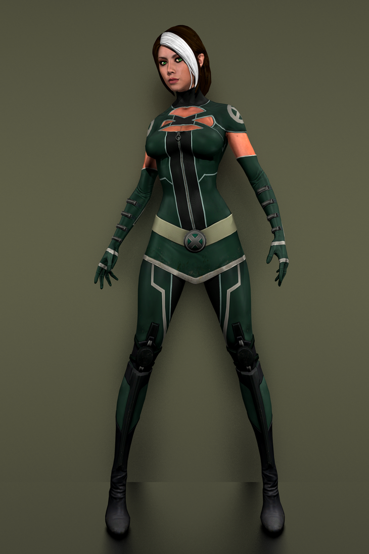Nude Rogue model from Deadpool the Game | DigitalEro Offline
