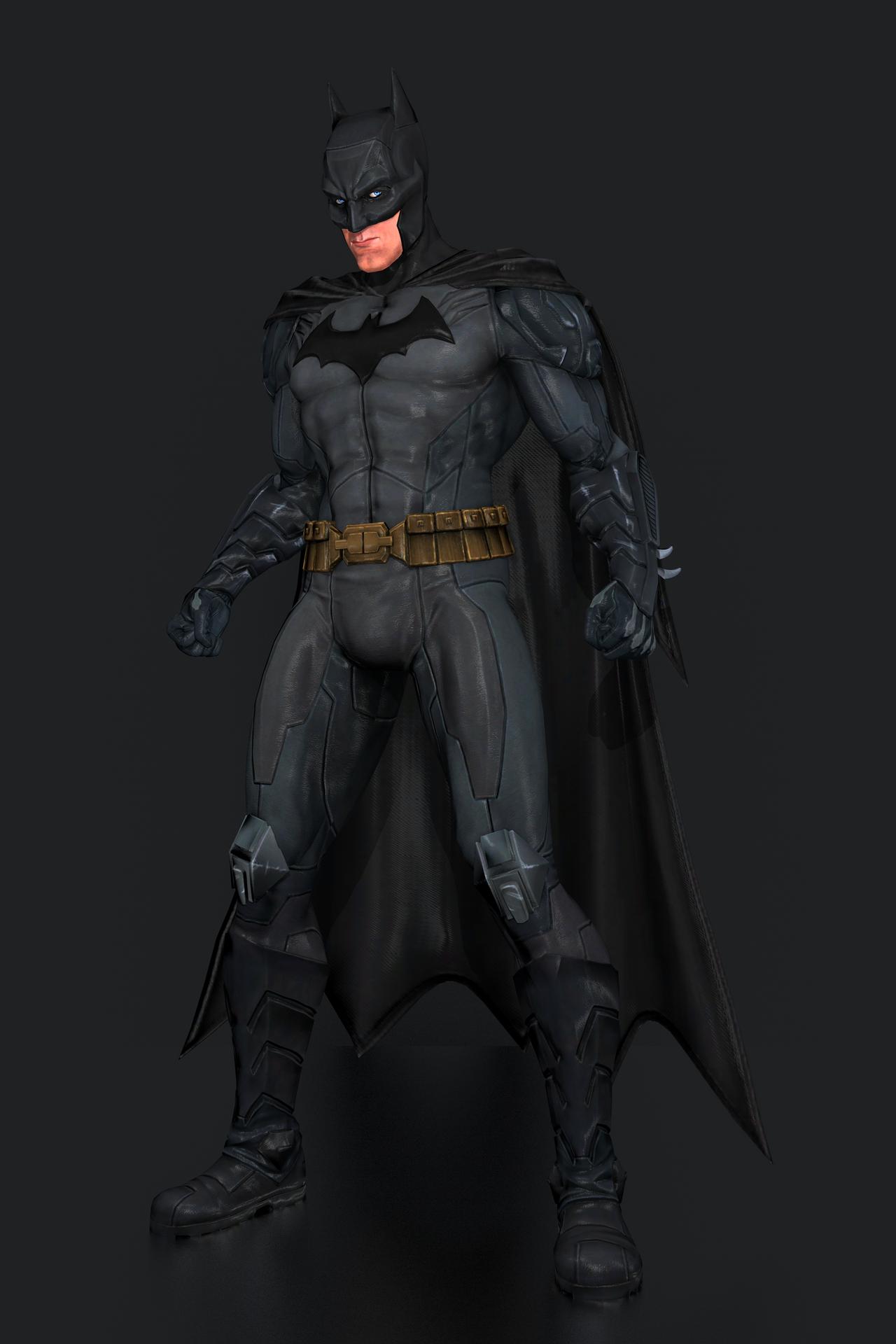 injustice gods among us batman new 52 by ishikahiruma
