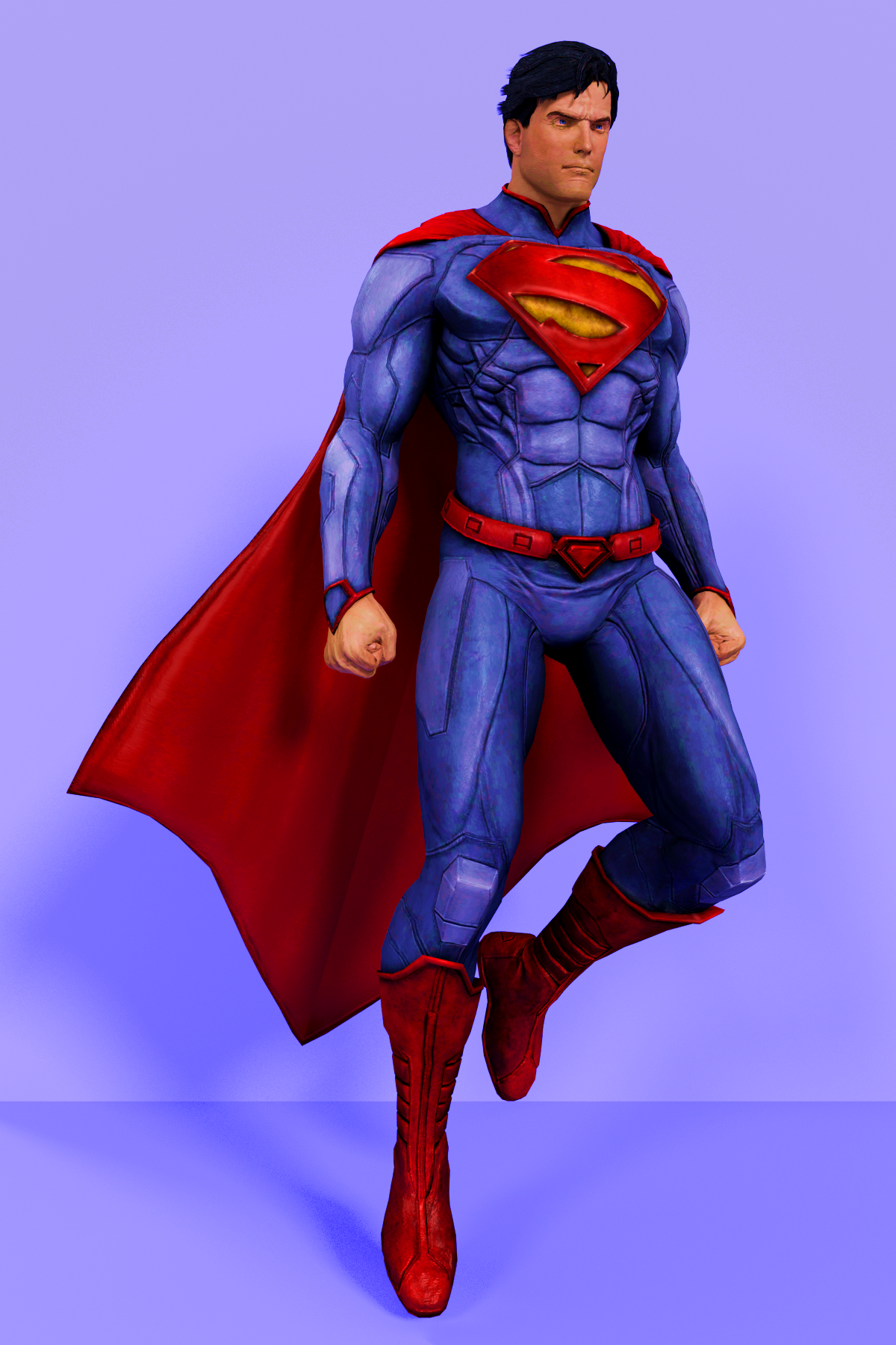 Took a shot at drawing the new Superman outfit : DCcomics