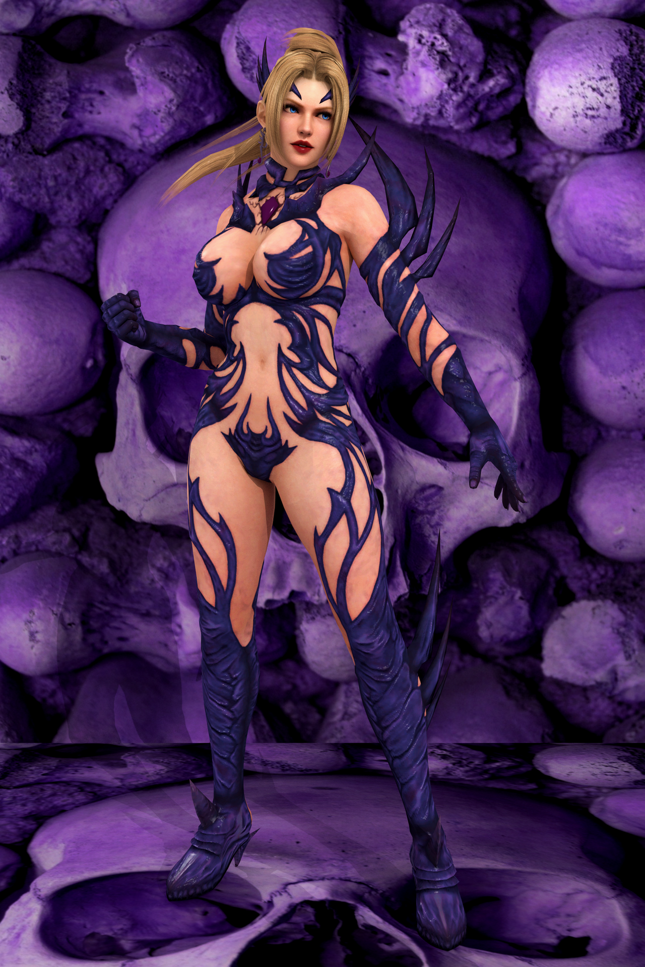 DOA 5 U - Rachel [Halloween] by IshikaHiruma