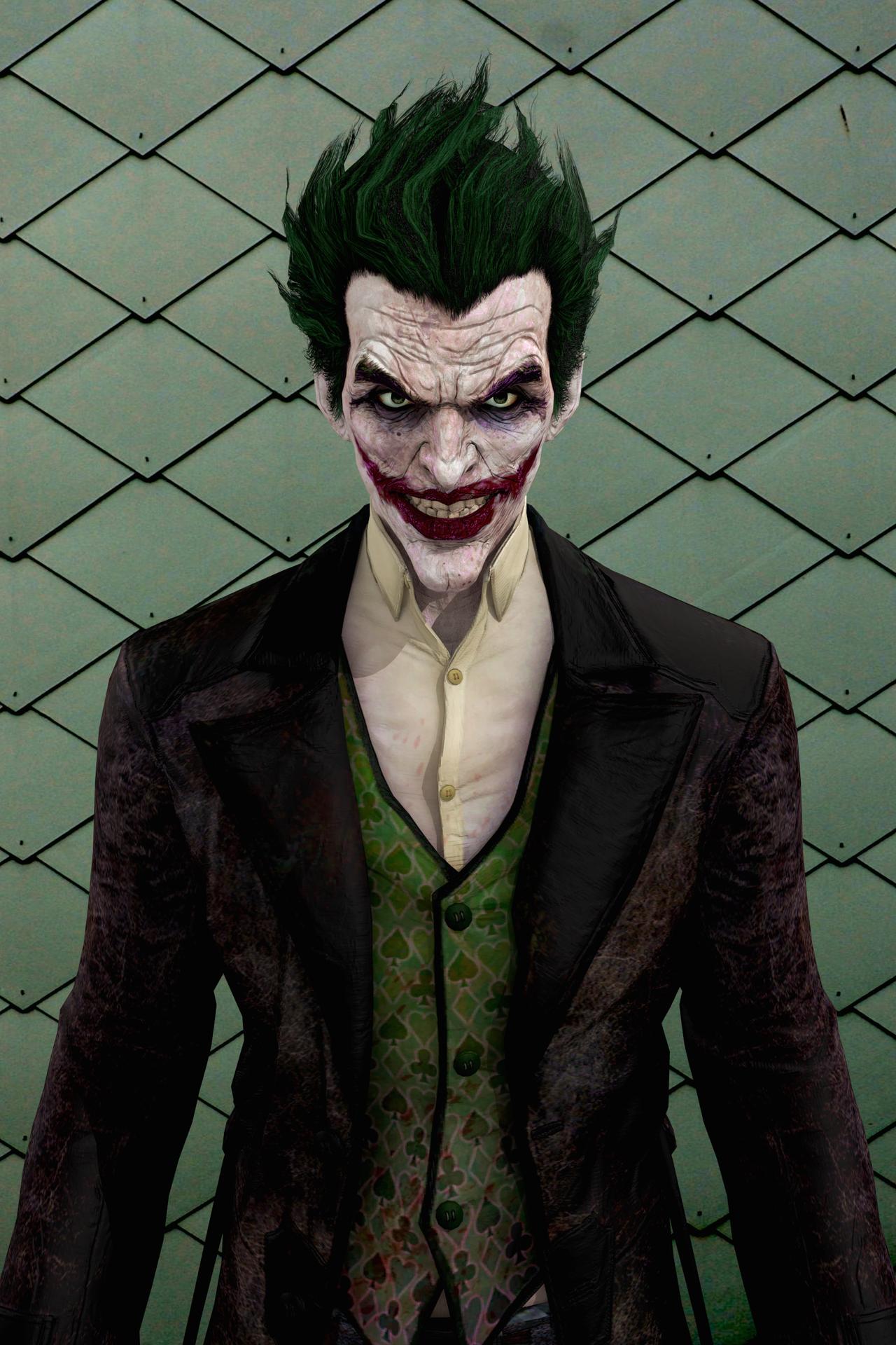 Arkham Joker Skin Arkham Origins Joker Cosplay