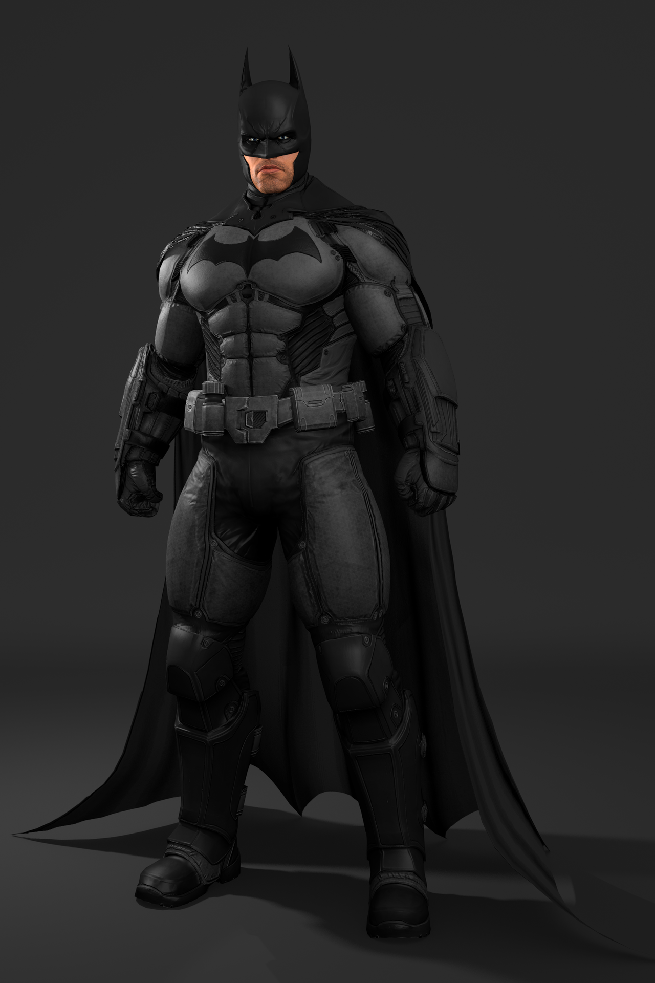 Batman Arkham Origins - Batman by IshikaHiruma on DeviantArt