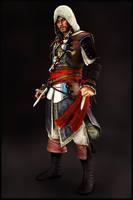 Assassin's Creed IV - Captain Edward Kenway by IshikaHiruma