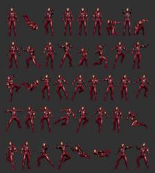 Iron Man M46: Pose Reference by IshikaHiruma