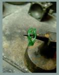 brambles ring wax wip 2