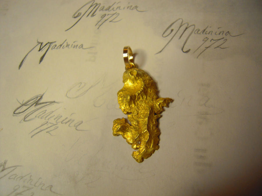 gold Martinique 3D by Debals