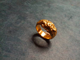 Gold ring concretion