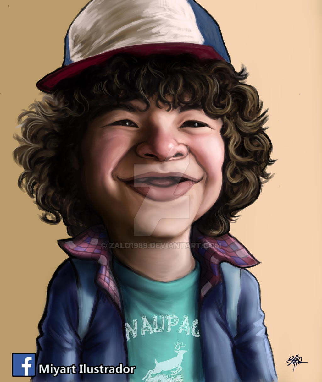 Dustin - Stranger Things by Zalo1989