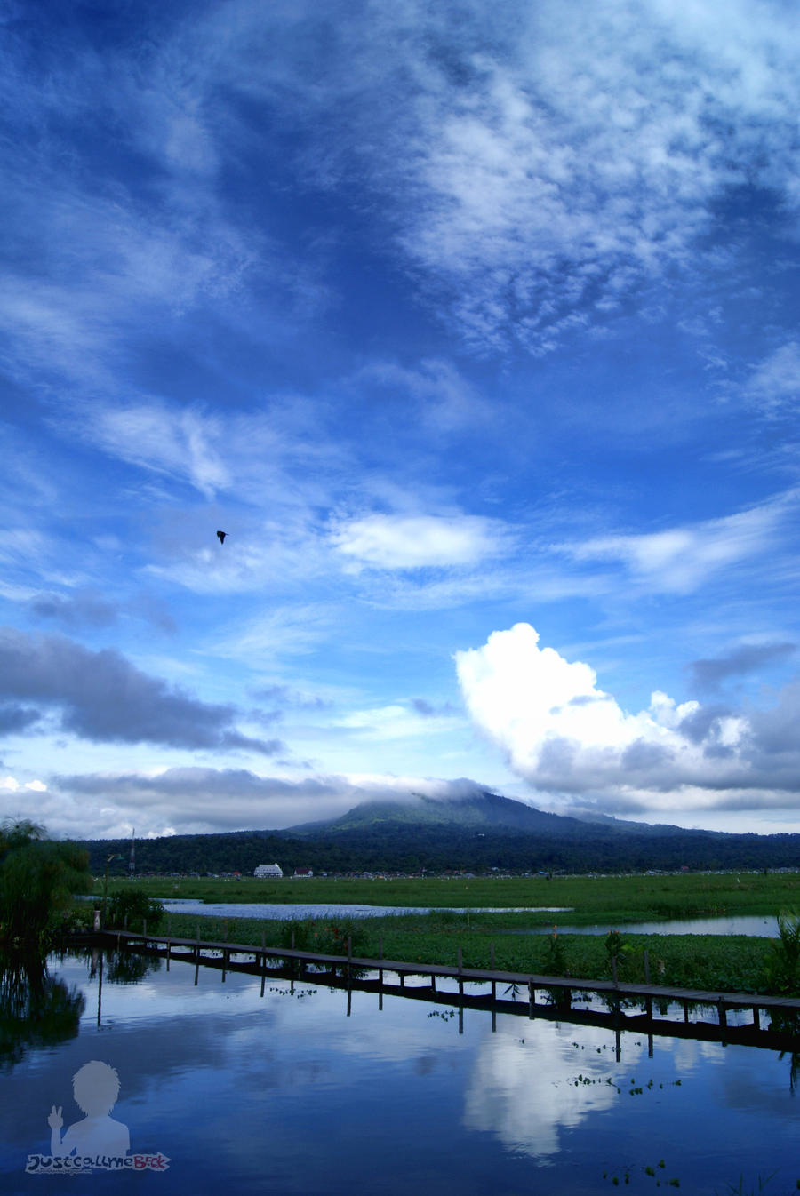 Mount Lokon 2 by justcallmeBECK