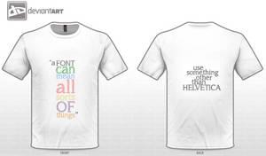 Fonts: T-shirt Design