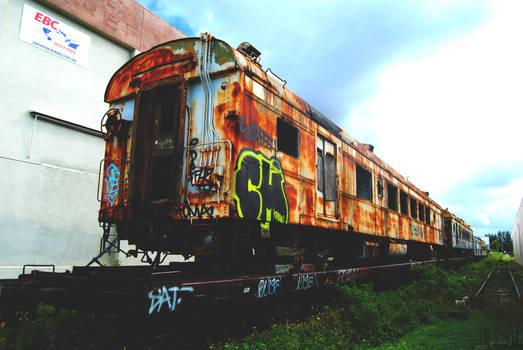All aboard the Urbex Train