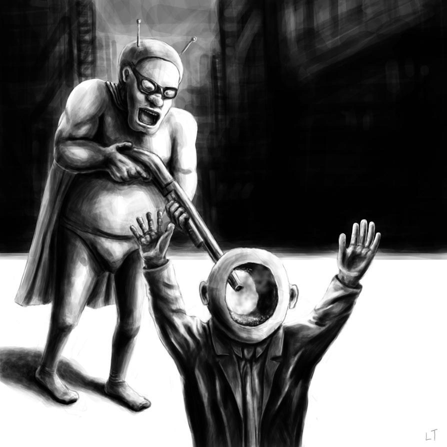The Retard Hero by Zombiehellmonkey