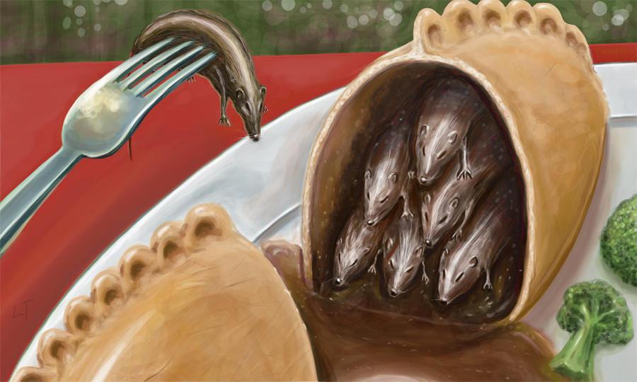 Mice Pasty by Zombiehellmonkey
