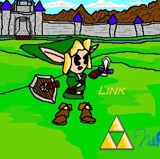 Link Smiley by cheddarpaladin
