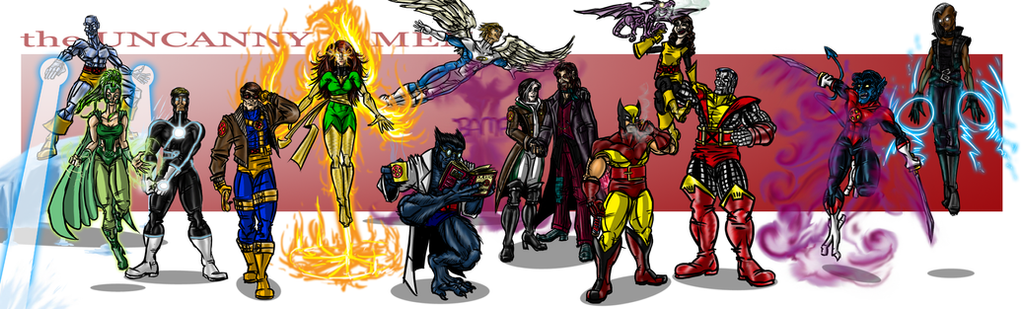 the Uncanny X-Men by cheddarpaladin