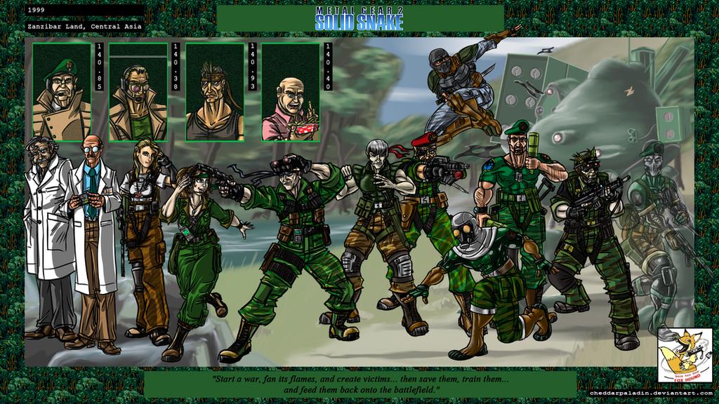 نتیجه تصویری برای Metal Gear 2: Solid Snake
