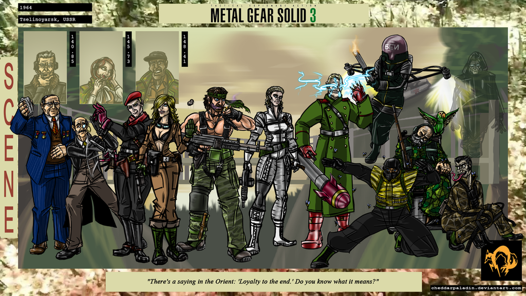 Metal Gear Solid Comic Solid Snake Naked Snake