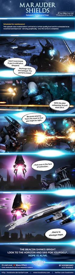 Marauder Shields 8: The Beacon of Hope (ME3)