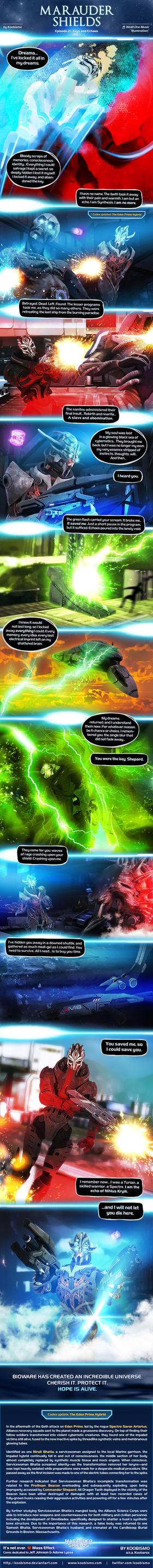 Marauder Shields 21: Keys and Echoes (Mass Effect) by koobismo