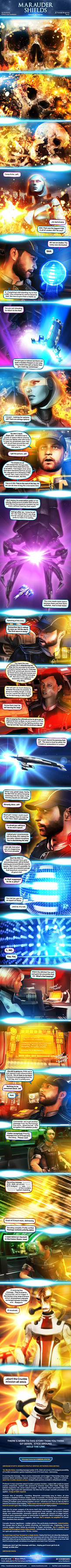 Marauder Shields 28: Signals (Mass Effect) by koobismo