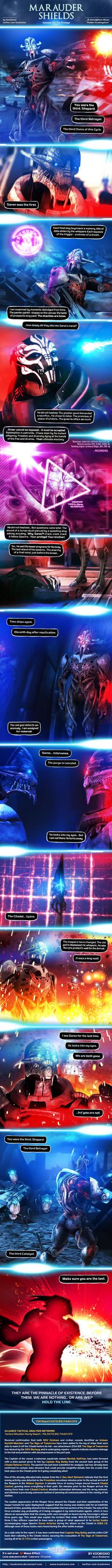 Marauder Shields 30: The Protege (Mass Effect) by koobismo