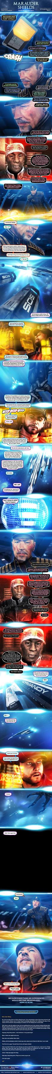 Marauder Shields 38: Dum Spiro Spero (Mass Effect) by koobismo