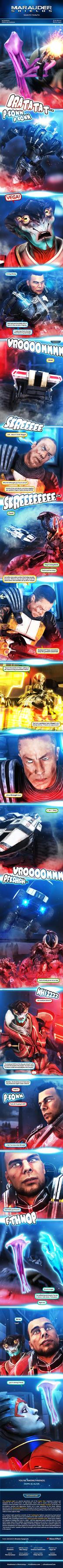 Marauder Shields 55: Friendly Fire (Mass Effect 3) by koobismo
