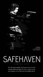 Safehaven Character Teaser - Dina Leitner by koobismo